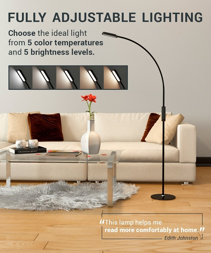 LED Floor Lamp by Lustrat