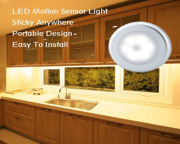 Bon URPOWER Motion Sensor Closet Light, Motion Sensing Battery Powered LED